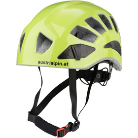AustriAlpin Helm.ut Casco da arrampicata, green anodised